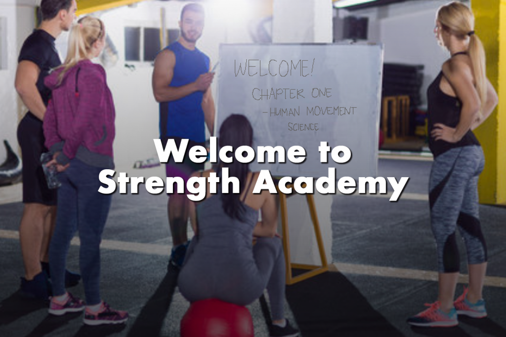 Welcome to Strength Academy-Admissions to NASM Certified Personal Trainer Course